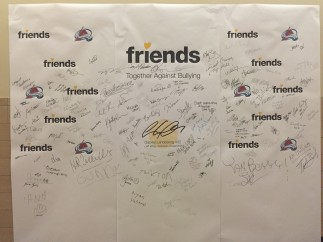 Pepsi Center Pledge Wall 1